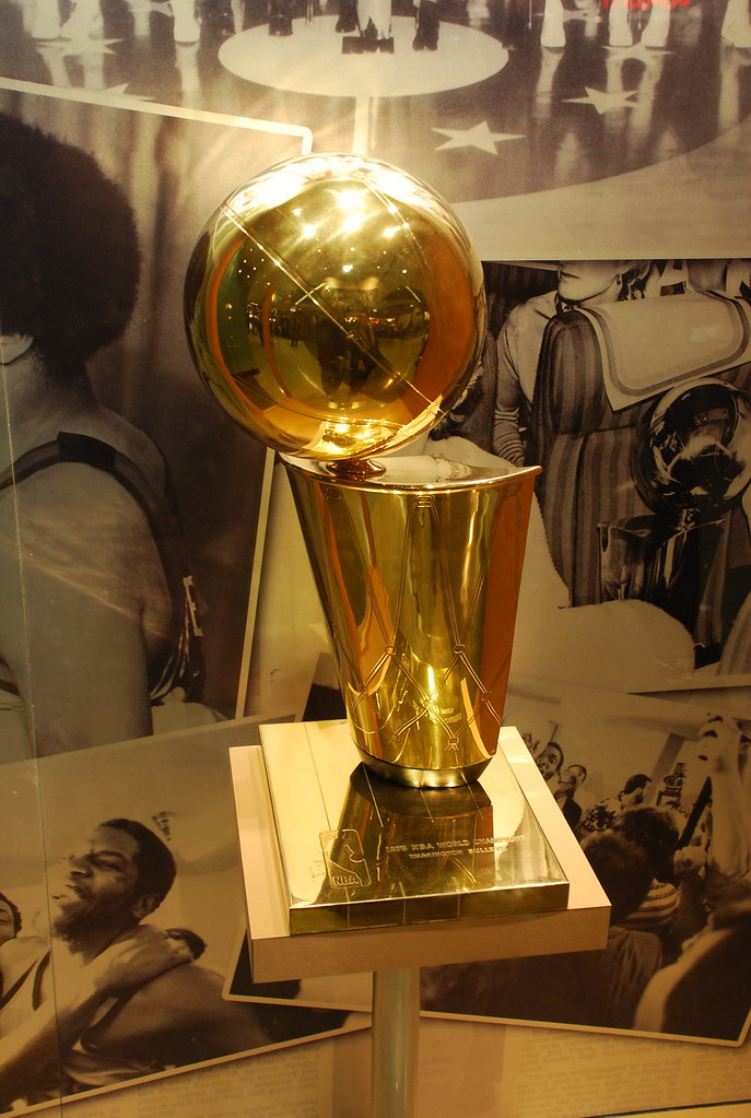 NBA Championship Trophy | The Washington Wizards' lone champ… | Flickr