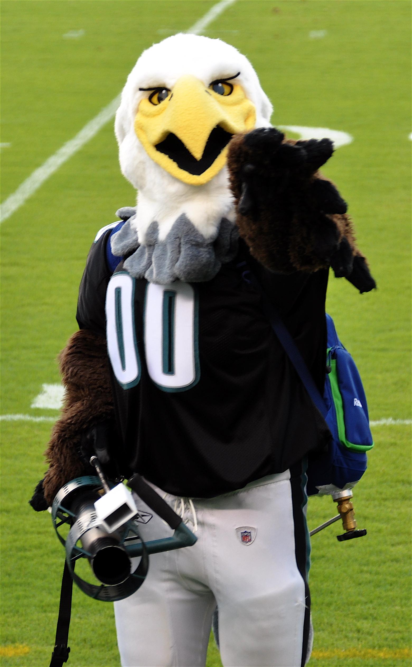 File:Philadelphia Eagles Mascot Swoop.jpg - Wikimedia Commons